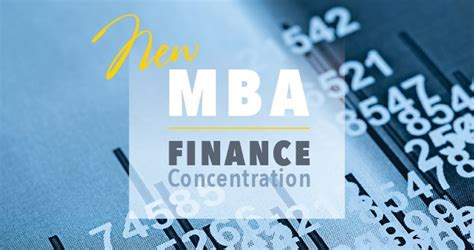 Bu Mba Finance Concentration by Belhaven Formerly Belhaven College A