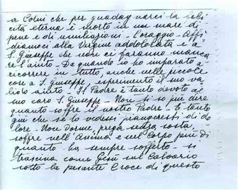 lettere padre pio lettera di cleonice morcaldi ad angela drioli padre pio