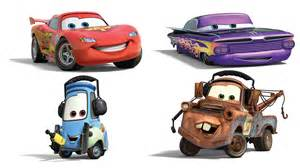 Lightning Mcqueen Car Names All Of Disney Pixar Cars 2 Name And Characters For