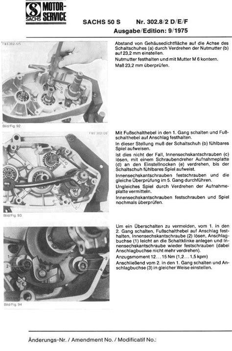 Sachs Motor Berholen Lassen by Sachs 50s Motor G 228 Nge H 252 Pfen Raus 50er Forum