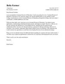 Sle Cover Letter Non Profit by Sle Non Profit Resume Executive Director Cover Letter