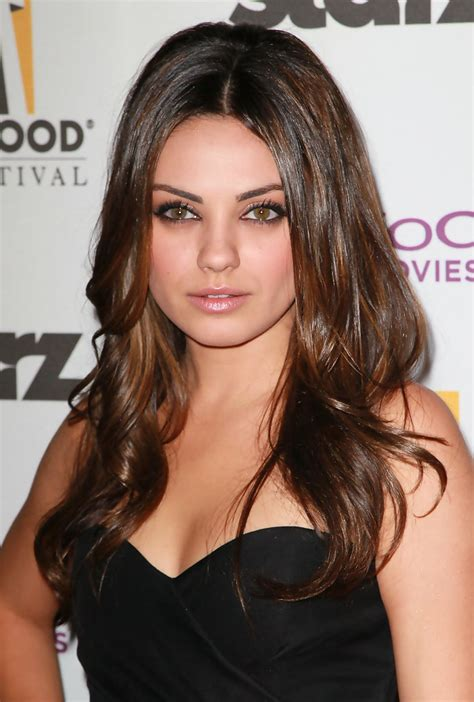 haircuts for small eyes mila kunis long curls mila kunis long curls looks