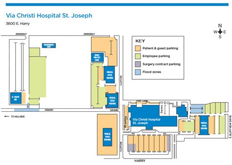 St Joseph Hospital Emergency Room by Parking At Via Christi Hospital St Joseph Via Christi Health