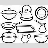 Set of kitchen utensil — Photo   Clipart Panda - Free Clipart Images