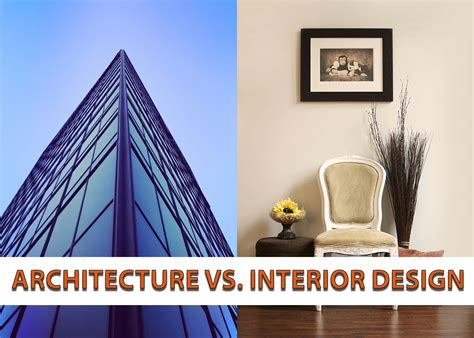 architecture vs interior design plan n design