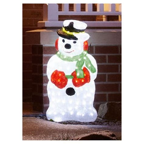 buy outdoor novelty snowman led christmas lights from our
