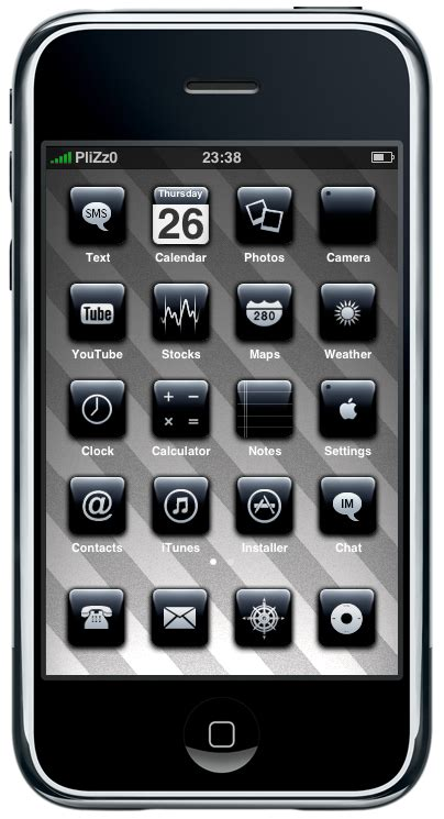 themes iphone 3gs 3g iphone theme by plizzo on deviantart