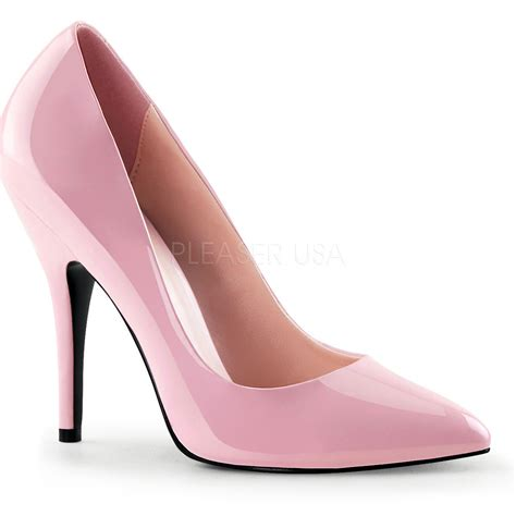 pink high heels shoes pleaser s light baby pink pumps 5 quot high heels