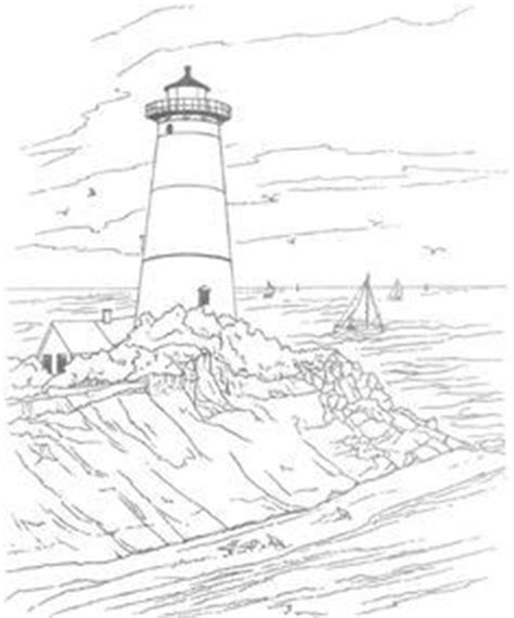 coloring pages lighthouse printable craft adult