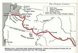 The Oregon Trail Map by Oregon Trail