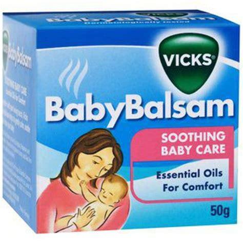 Vicks Baby Balsam By Kenmomshop vicks baby balsam obat herbal untuk flu bayi 50 g