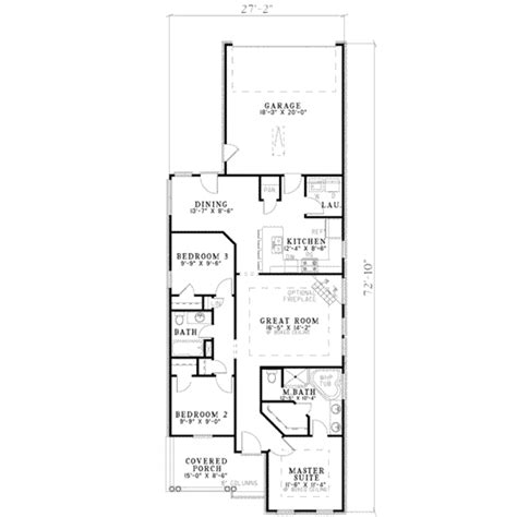1100 sq ft 3 bedroom floor plan 1100 sq ft ranch 1100 sq traditional style house plan 3 beds 2 baths 1263 sq ft