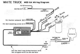 msd 6a wiring diagram chevy msd free engine image for user manual