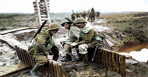 the color war world war 1 in colour tv series