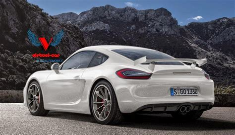 Porsche Gt4s Porsche Cayman Gt4 Renderings Look Almost Real