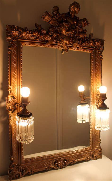spiegel stil antik barok stil spiegel mit beleuchtung sehr