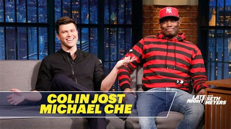 michael che youtube michael che and colin jost review their rejected snl