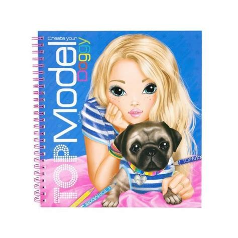 Top Model Album Coloriage Styliste Create Your Doggy