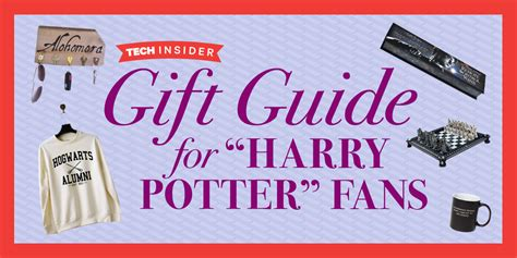 gifts to give a harry potter fan the ultimate harry potter gift guide business insider