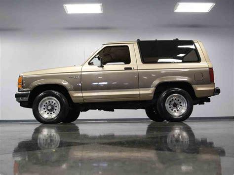 1990 ford bronco ii for sale classiccars com cc 988614
