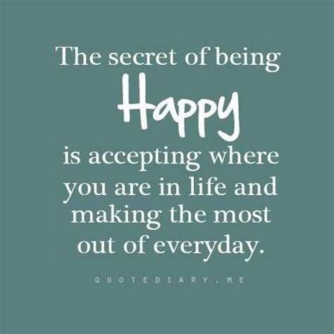quotes for secret the secret of happiness is freedom quotesvalley
