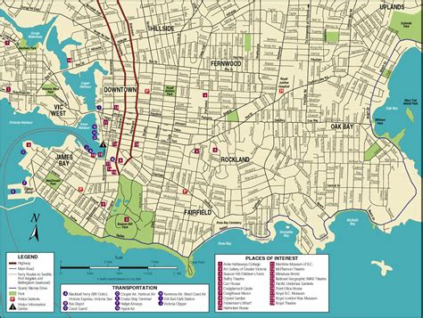 printable maps victoria bc victoria bc canada cruise port of call