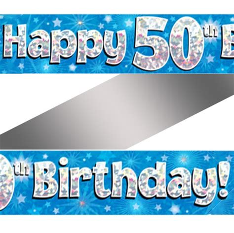 50th birthday banner template 50th birthday banner best happy birthday wishes