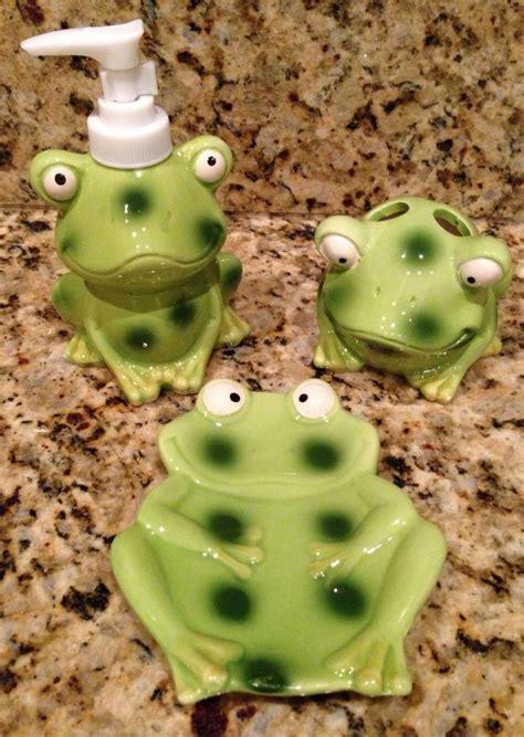 frog bathroom cutest frog bathroom decor