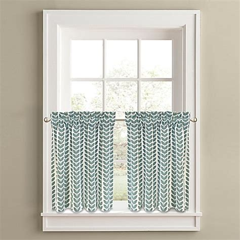 36 inch window curtains buy samantha 36 inch window curtain tier panel pair in