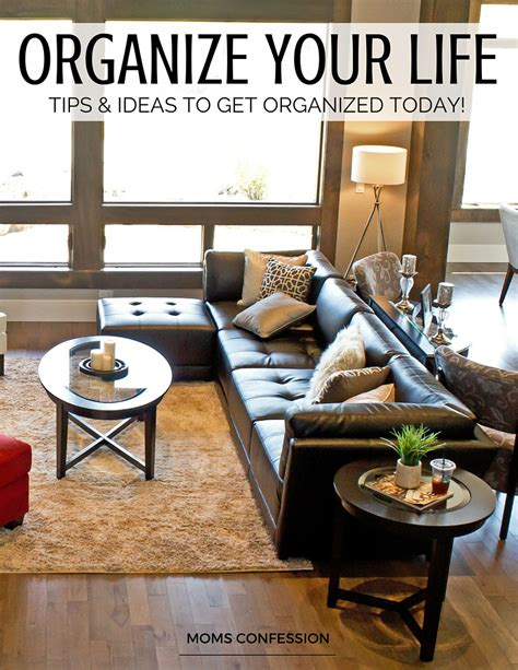 lifestyle organizing a new way to think organize your life for success this year