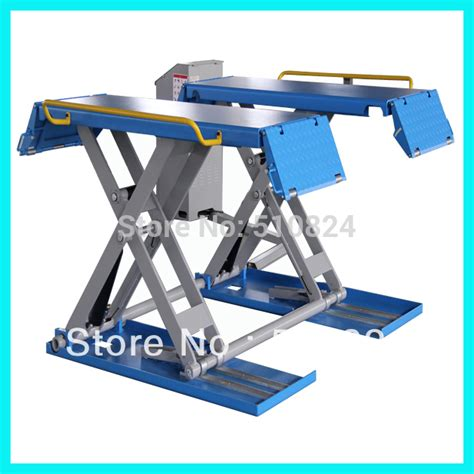 Car Lift Low Ceiling by Aliexpress Buy Promption Sales Low Ceiling Mid Rise Scissor Car Lift Wsr3000 Hydraulic