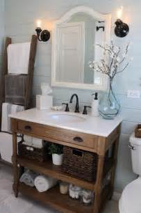 Gallery for gt white rustic bathroom