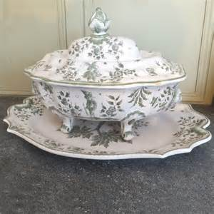 Old Sofas For Sale Antique French Green And White Soup Tureen Antique
