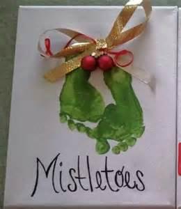 footprint christmas craft fun craft ideas pinterest