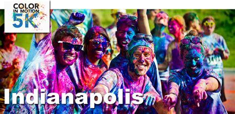 color run indianapolis 2013 indianapolis color in motion 5k