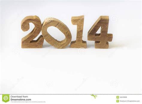 new year wood happy new year 2014 royalty free stock images image
