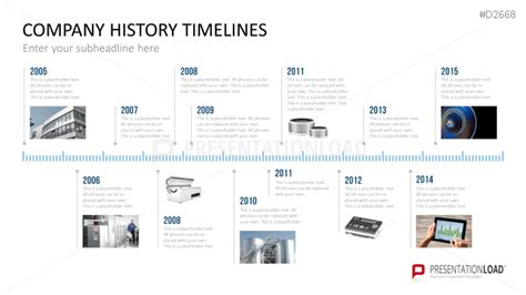company history template powerpoint timeline template for company histories data