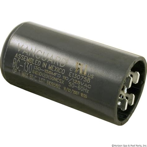start capacitor pool motor pool spa motor start capacitor 125vac 1 7 16 x 2 3 4 choose mfd
