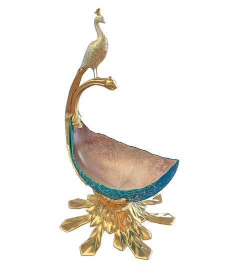 Peafowl decorative vase 3d model 3ds max files free