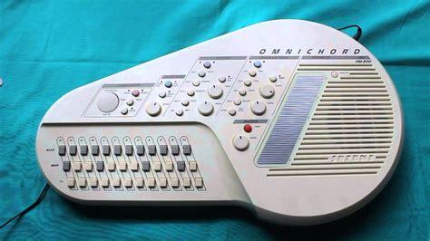 vintage suzuki om 300 omnichord omni chord synthesizer