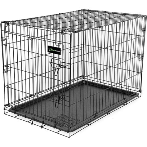 wire kennel ruff maxx wire kennel 42 quot walmart