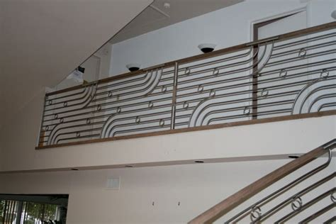 Steel Railing Design Another Interesting Design Instead Of A Plain Handrail It