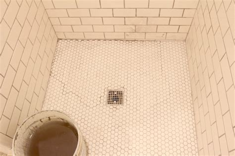 How To Seal A Tile Floor by If At First You Don T Succeed A Shower Floor Tale