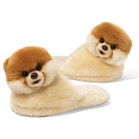 Boo For gund boo the world s cutest childs slippers ebay