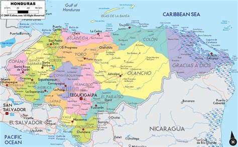 honduras location on world map maps of honduras map library maps of the world
