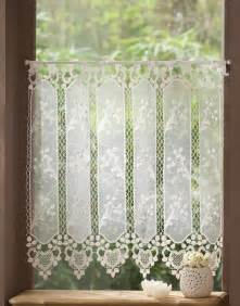 Macrame Lace Curtains Macrame Valance Curtains Alliance