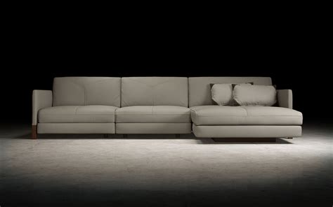 modloft lafayette sectional sofa right md804 1sl 1s chr
