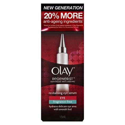 buy regenerist revitalising eye serum 15 ml by olay priceline