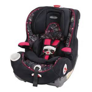 graco smart seat all in one black pink car seat