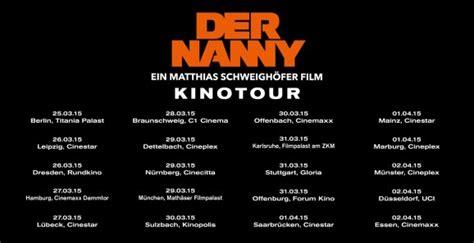 cinemaxx vorverkauf zum kinostart von quot der nanny quot matthias schweigh 246 fer auf